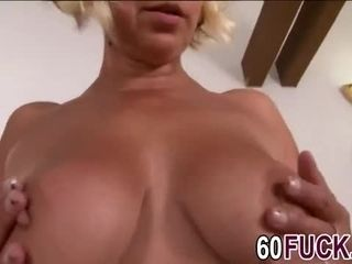 Real big breast granny first time banging with big black cock living her dreams