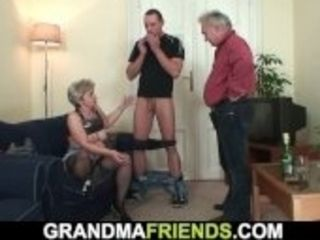 """""""They share cock-hungry aged grandma"""""""