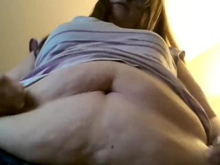 Obese with an increment of matured bbw possessions the brush buxom pussy banged