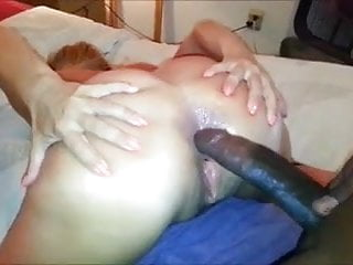 amateur mature cuckold strokes wife fucks