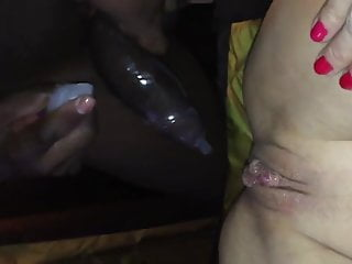 Me Sandra Blue And bbc In My fuck holes!