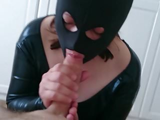 Camouflaged blowjob