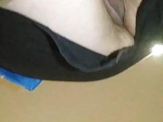 Upskirt hardly ever pants