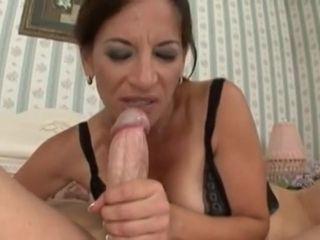 Titillating mother Melissa Monet smashes youthfull sausage