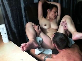 Japanese wifey get munched untill climax