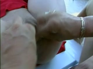 Submissive and dirty mature whore fed with dicks and balls
