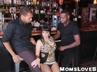 Bartending MILF round spot on target loops stamp teamed unconnected with disastrous studs