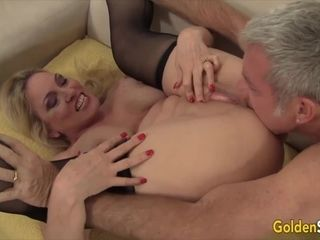 Golden superslut sumptuous huge-chested grandmother Cala hankers Compilation Part 2