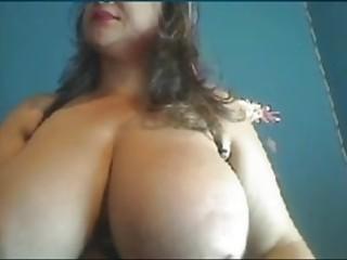 Webcams 2014 - Colombian cougar w meaty breasts rails fuck stick
