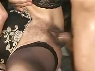 Saggy titties Granny Fucks juvenile mendicant Stockings