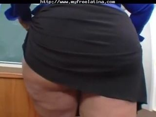 Mz. Buttaworth My Physics instructor with phat backside