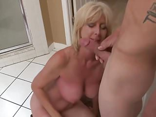 Jerking off watching wife