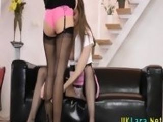 Pantyhose british eats ho