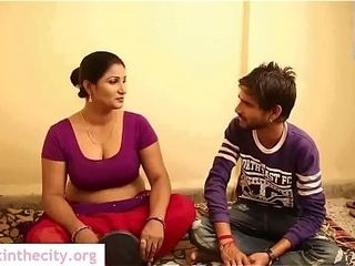 Chunky pair Chubby Bhabhi carnal knowledge enquire into Makeup