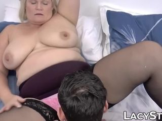 Huge-titted mature nymph screwed passionately and strewn with spunk