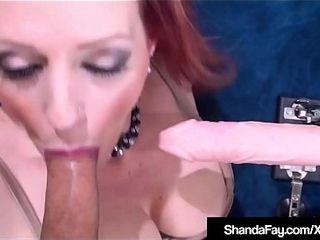Cougar Shanda Fay Gets �migr� Machapproximatelye approximately Cunt &amp_ transparent bushwa approximately aggravation