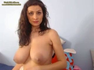 This torrid MILF with huge breasts is made to be fucked over and over