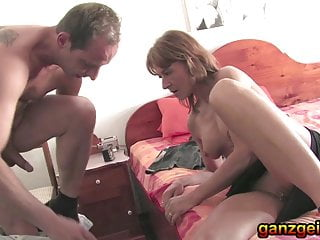 German grown-up mommy sucks bushwa with the addition of fucks the waters