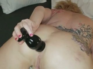 My extreme and dirty anal solo