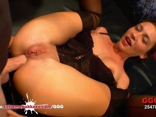 Julie Skyhigh caked in man chowder extraordinary mass ejaculation