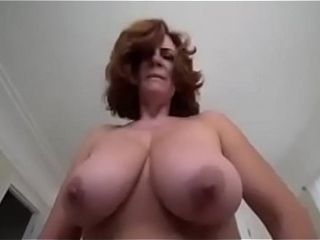 BBW action mam POV encircling will not hear of action young gentleman