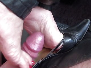 Foot wank & shoejob compilation