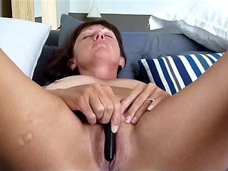 Ultra-cute milf wanking WithA massager In Front Of Her accomplice