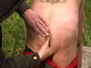 Scandi of age ballpark anal alfresco fucked