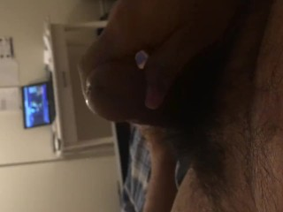 Solo sex: wanking at home