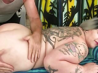 Total Figured Nova Jade Lets a nasty senior massagist have fun with Her appetizing assets
