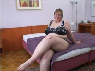 Freak dark-hued dangled boinked hefty grandmother Minka jugs