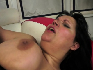 Fat grandma anally screwed after oral action