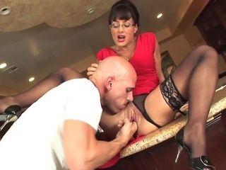 Lisa Ann and Johnny Sins scorching cougar porno