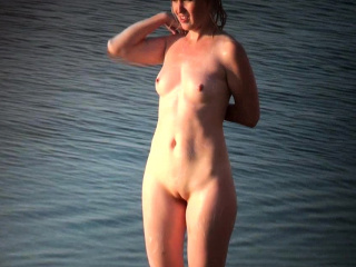 Meaty breast Beach hidden cam movie