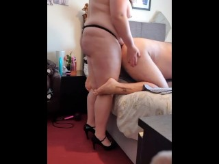 Wifey boinks spouse with strap-on