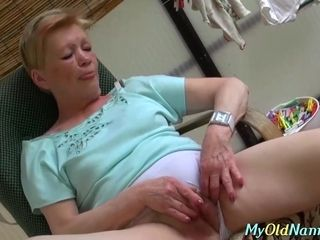 Stunner and grandma love Their playthings and a scorching dude