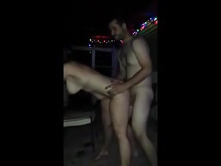 wife on vacation get's it on a Turkish  beach