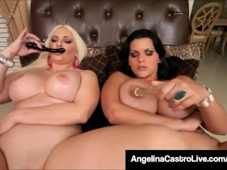 Cuban BBW Angelina Castro & Bedelli Buttland Bang Wet Cunts!