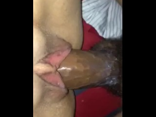 X-rated drenched Latina