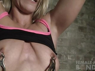 Cold womanlike tissue Cougar close by Paclose by exotic Nipple Clamps
