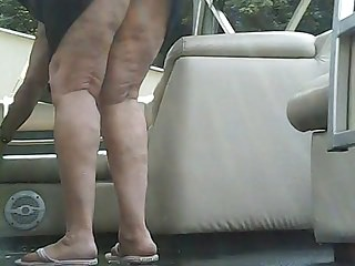 Upskirt doused