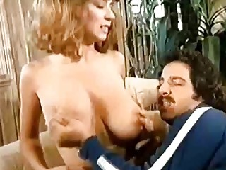 Old school Ron Jeremy and Christy Canyon torrid intercourse gig!