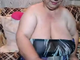 Busty Granny with Bouncing Boobs fucked hard
