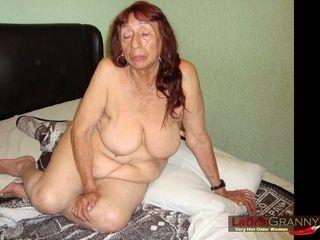 LatinaGrannY non-professional Granny veranda Slideshow