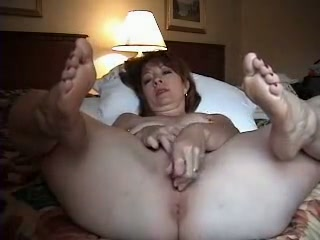 My wifey is always blessed to take off her clothes and she enjoys her glass fake penis