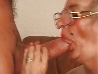 With you sucking hot dick grannies can