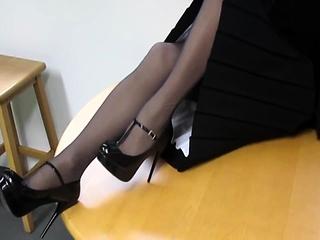 Nylon stockings charm