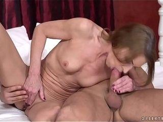 Rabelaisian Grandma rides younger Hawkshaw