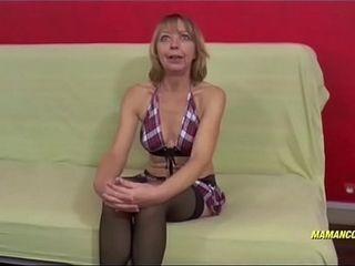 Nadine une femme matured amatrice de sexe interracial