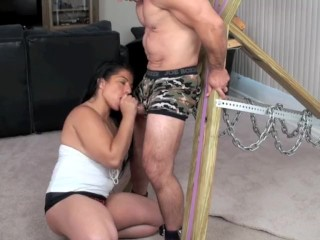 In compliance blowjob outsider Alexis ripple